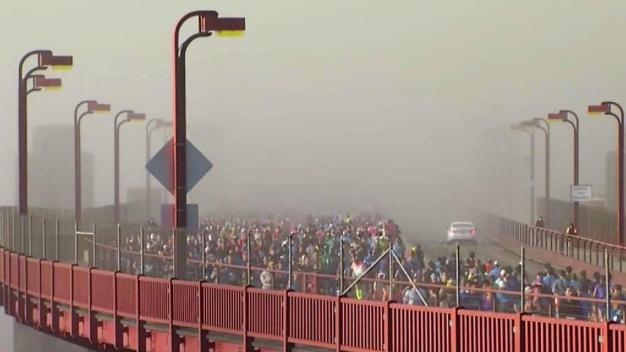 Runners Flock to San Francisco for Annual Marathon