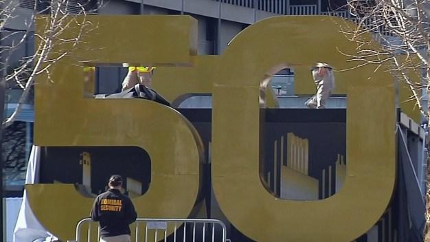 Teardown of Super Bowl City Ahead of Schedule