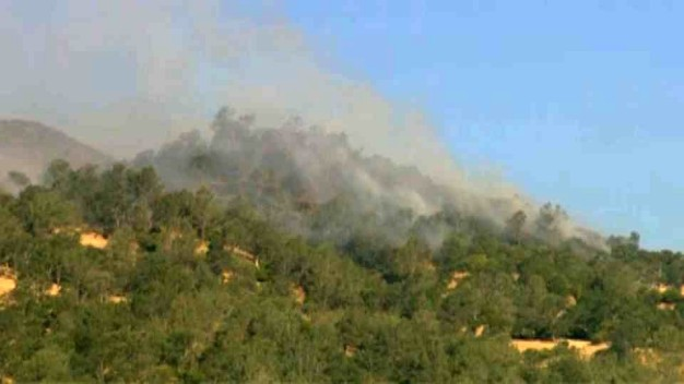 Sand Fire in Yolo County Burns 2,220 Acres