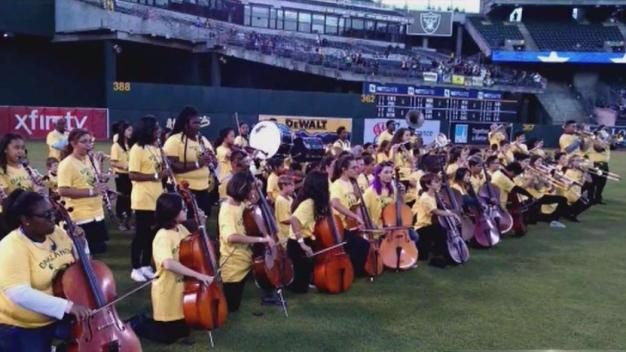 School District Band to Protest During Anthem at A's Game