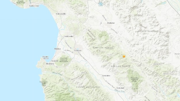 M3.4 Quake Hits Near Hollister, Salinas After M4.7 Temblor