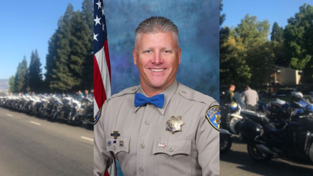 Family, Colleagues Say Final Goodbye to Fallen CHP Officer