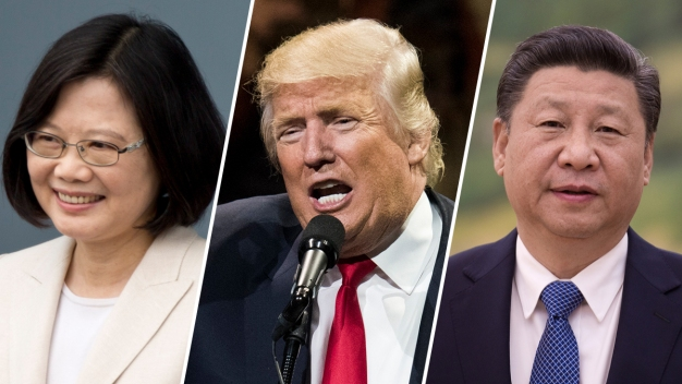 Trump Risking Rift With China With Call to Taiwanese Leader