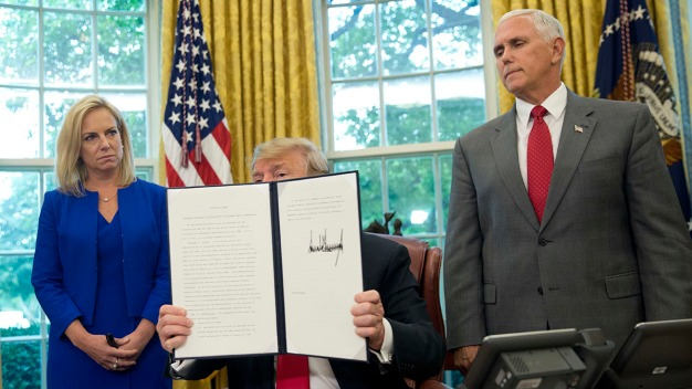 Full Text of Trump's Executive Order on Family Separations
