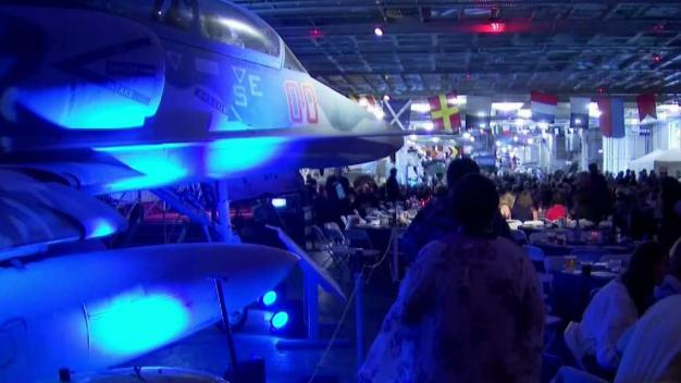 USS Hornet Museum Celebrates Anniversary With Special Dinner