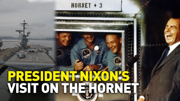 President Nixon's Visit to the USS Hornet