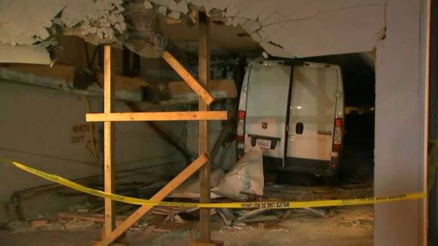 Driver Hurt After Van Plows Into SF Apartment Building