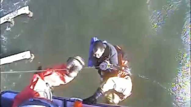 Coast Guard Rescues Boaters from Berkeley Pier Beset by Wind