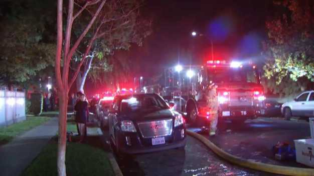 Two Suffer Smoke Inhalation in Concord Apartment Fire