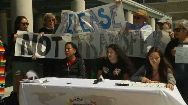 Release Detainees at Richmond Detention Facility: Families
