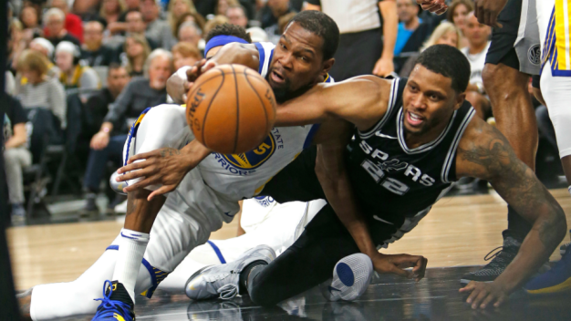 Warriors Unable to Sweep Spurs in First-Round Playoff Series