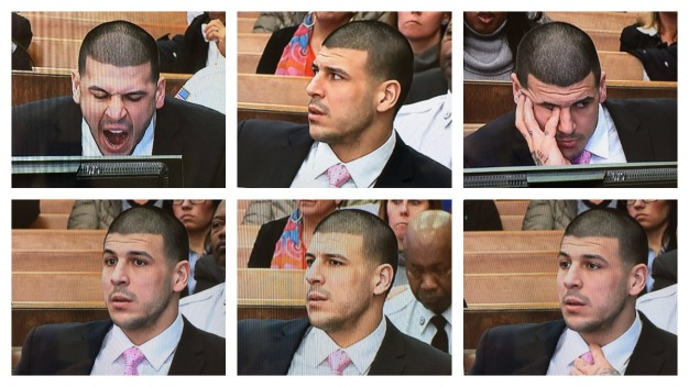 Hernandez Expressive as Ex-Friend Testifies
