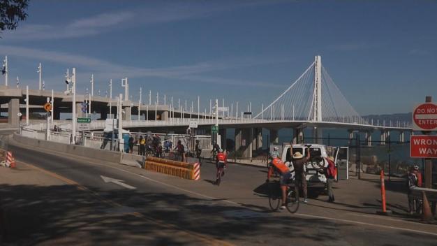 New Bay Bridge Bike, Pedestrian Path Extension Opens