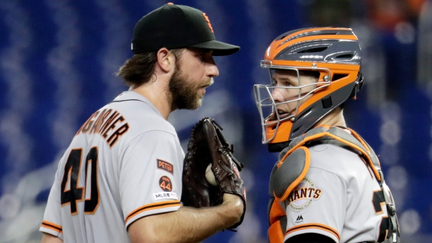 Bumgarner Could Reject Trade to Stay With Giants: Report