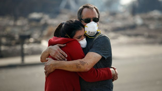 Californians Brace for Emotional Toll From Wildfires