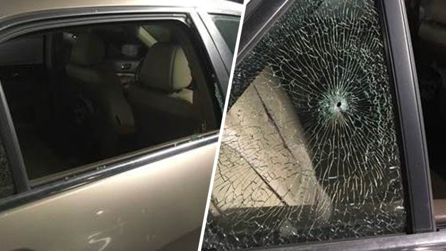 Woman's Car Struck by Pellet Gun Rounds in San Jose: CHP