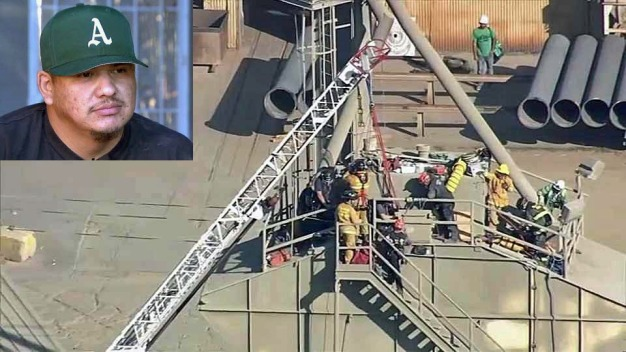 Cement Worker Rescued From Silo Details Incident, Recovery
