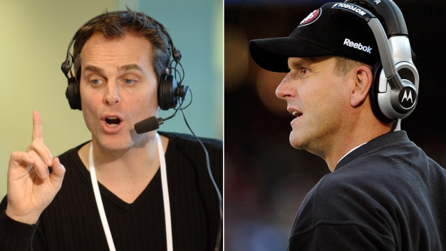 "Cowherd: Harbaugh Interview a ""Clunker"""