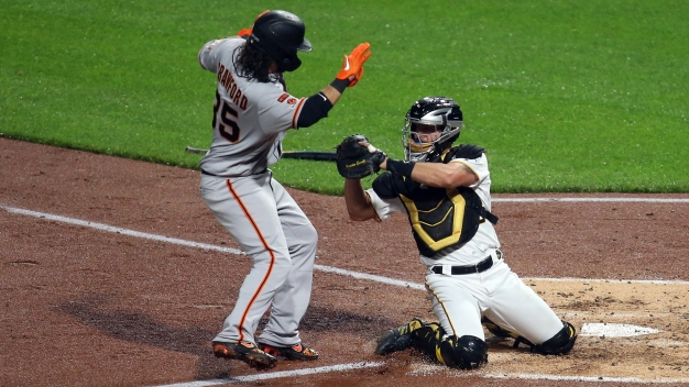Giants Digging Hole With First-inning Woes, and They May Not Have Solution