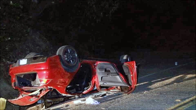 Two Dead After Solo-Vehicle Crash in Alameda County