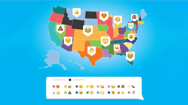 California's Top Emoji Choice is, Not Surprisingly, Blessed