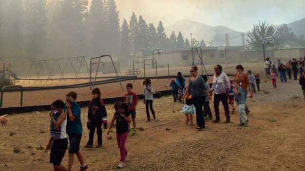 NorCal Wildfires Destroy Homes, Force Evacuations