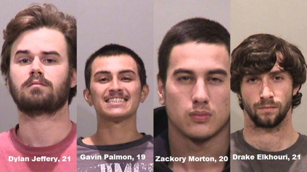 4 Arrested for Destroying Inflatable Fremont Dam