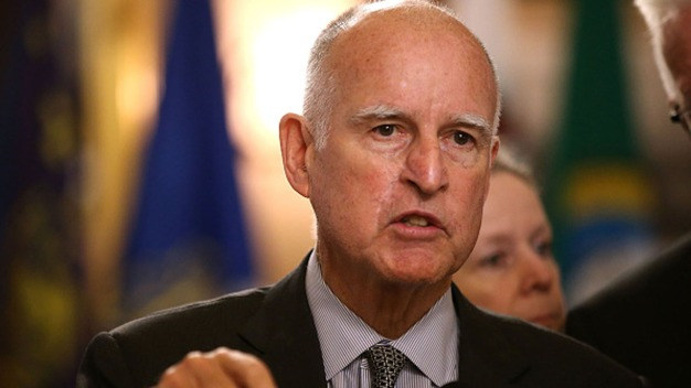 Calif. Governor Backs Clinton Days Before Primary
