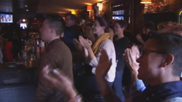 Young Democrats in SF React to Hillary Clinton's Historic Acceptance Speech