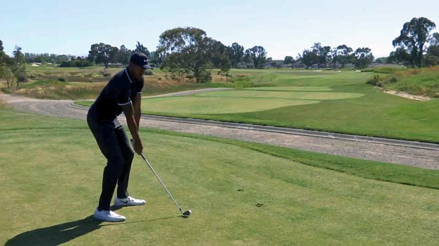 Warriors' Iguodala Making the (Golf) Rounds in Bay Area