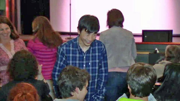Teen Bone Marrow Transplant Recipient Wishes to Give Back
