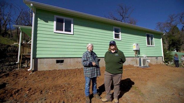 'Hope City' Volunteers Help Burned Out Communities Rebuild