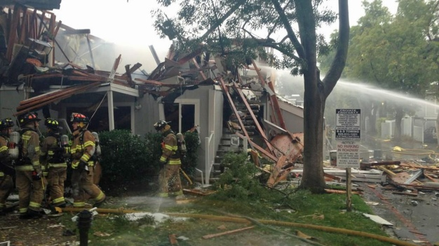 2 Injured in Explosion, Fire at Walnut Creek Apartment Building