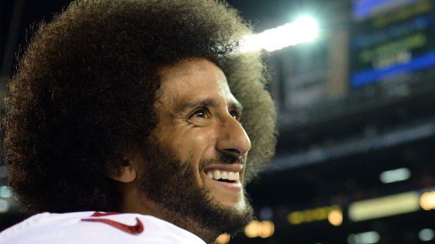 49ers QB Kaepernick Wears Shirt to Honor Black Panther Party