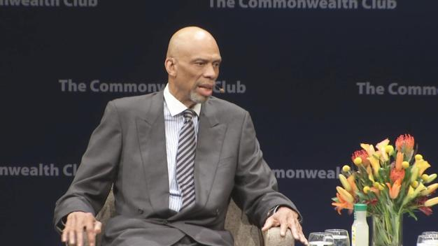 Kareem Abdul-Jabbar Speaks in SF in Support of Colin Kaepernick