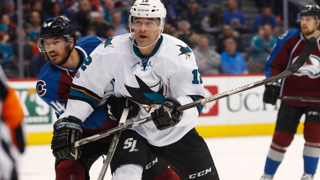 Marleau's First Four-goal Game Powers Sharks Past Avs