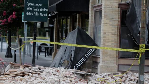 Gov. Brown Requests Federal Aid Following Napa Quake