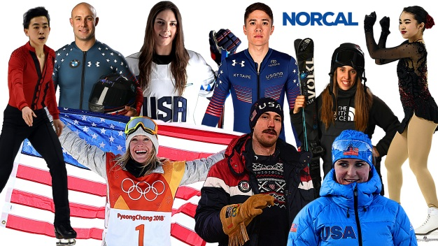 Get to Know Your NorCal Athletes Competing in Pyeongchang