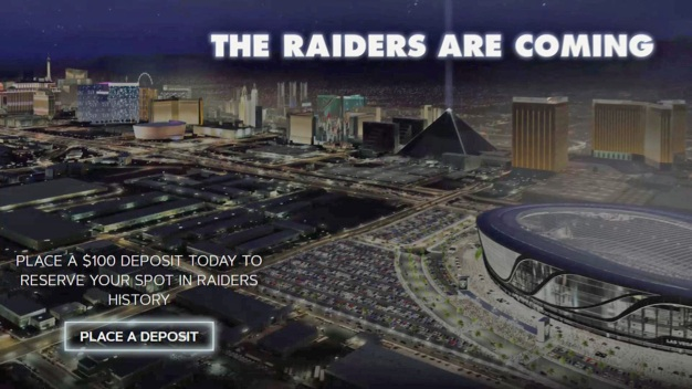 Raiders Post Ill-Timed Message on Web For Season Ticketholders