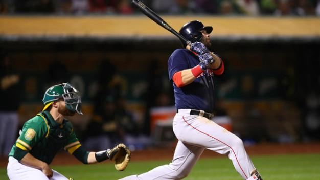 A's Slammed in Loss to Red-Hot Red Sox