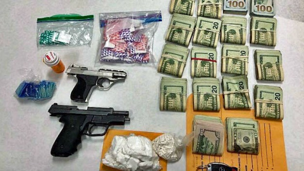 Richmond Police Seize Guns, $38K in Cash and $9K in Drugs