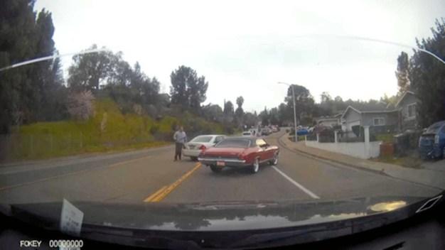 Road Rage Incident Captured on Dashcam in Martinez