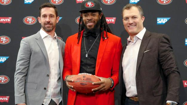 Sherman Ready to Contribute to 49ers On and Off the Field