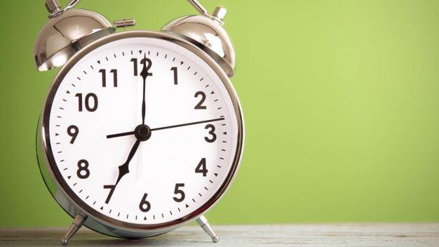 Daylight Saving Time Begins Sunday