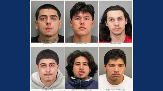 Group Arrested Last Month Accused of More Than 30 Heists