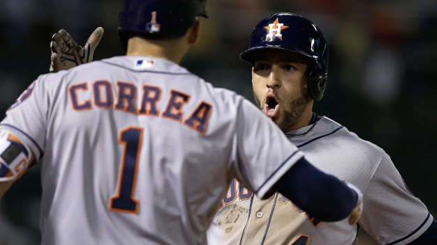 Astros Club Three Homers, Snap A's Winning Streak