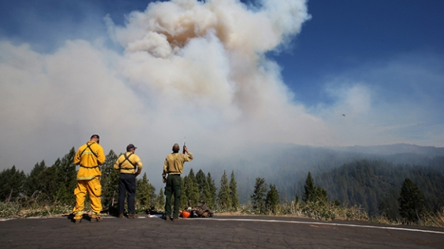 Teams Assess Damage as King Fire Burns