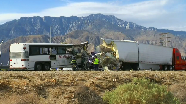 11 of 13 Victims in Palm Springs Bus Crash Identified