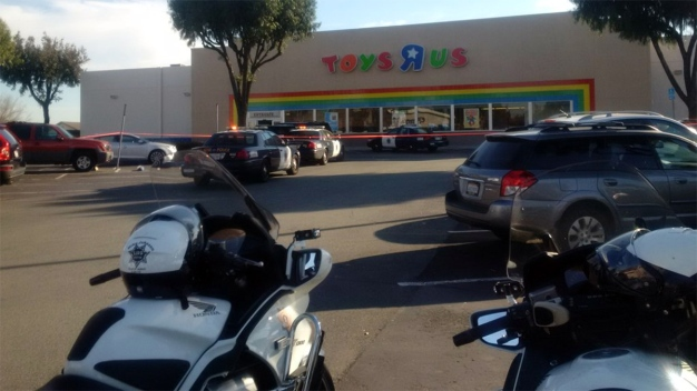 Suspected Car Thief Arrested at San Jose Toys 'R' Us
