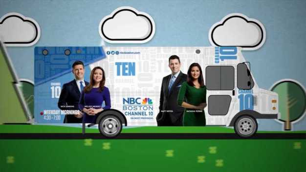 NBC Boston's Treat Truck in NH This Weekend